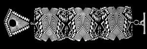 7-527 NEW RAZZLE DAZZLELARGE LINK BRACELET