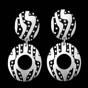15-ER52 DOUBLE EARRINGS
