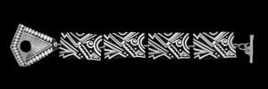 5. 103D NARROW LINK BRACELET MIMBRES BOOGIE