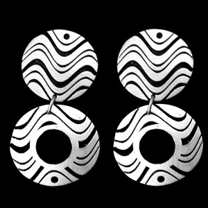 50. 15-ER55 DOUBLE EARRINGS