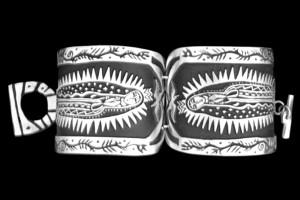 501R HISTORIC GUADALUPE HINGET BRACELET
