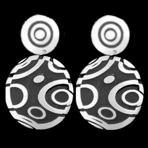 59. ER14-1 CIRCLE FANCY EARRINGS
