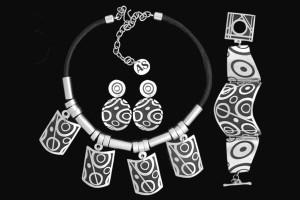 ADN99 CIRCLES NECKLACE SET