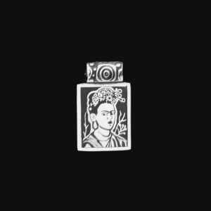 FC3 FRIDA KAHLO SMALL PENDANT SELF PORTRAIT PEBDANT