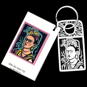 FKR1 FRIDA KAHLO KEY RING