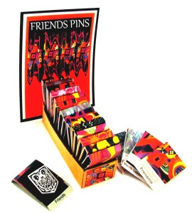 FREINDS PINS SET WITH 18 PINS