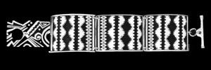 NR-2BN3 GANADO RUG LARGE LINK BRACELET